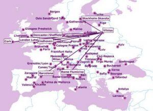 Pigūs lėktuvų bilietai iš Vilniaus