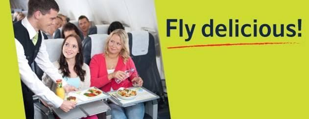 Nemokamas maitinimas airBaltic skrydyje