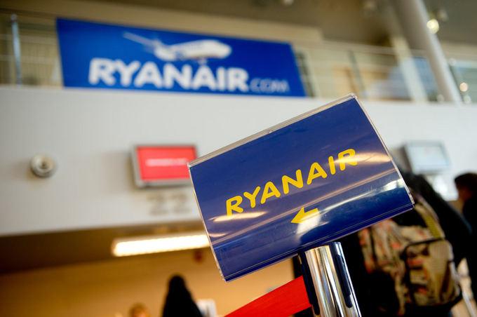 Nauja Ryanair kryptis Lietuvos