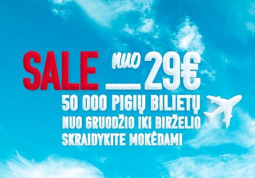 airBaltic skrydžiai nuo 29 eur